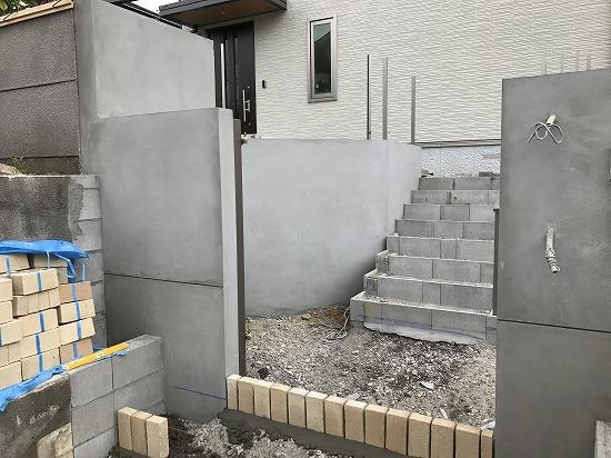 積水ハウス様にて新築工事