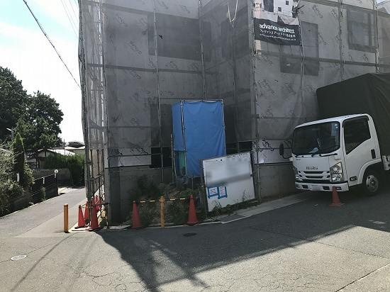 枚方市香里園にて外構工事開始しました。