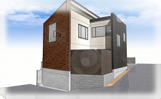 ガーデンプロ関西では工事前にイメージパースを作成します。
