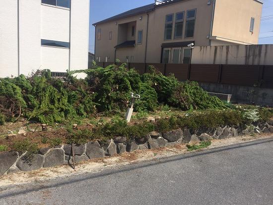 奈良市エクステリア工事とガーデン工事です。