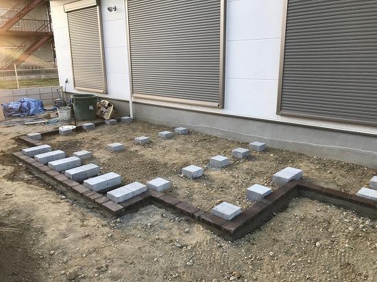 天理市 外構工事中ガーデンプロ関西