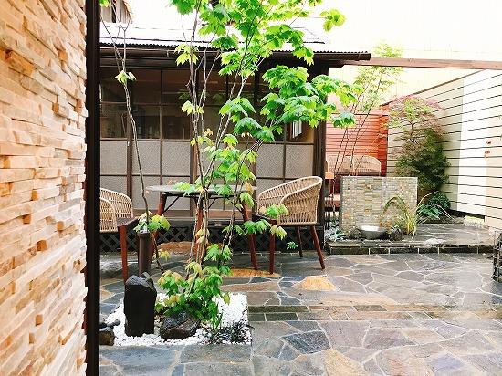 奈良市エクステリアガーデン