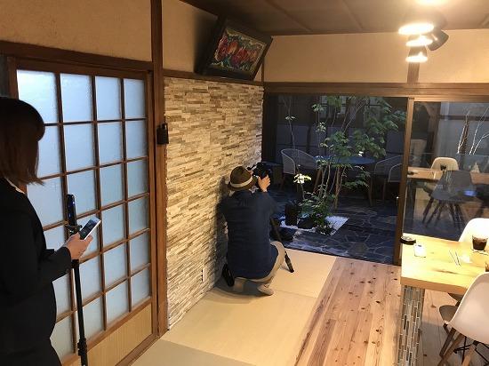 奈良市高畑町のガーデンプロ関西にて写真撮影です。