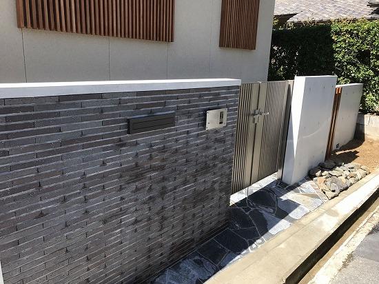 2世帯奈良市の外構スタイル