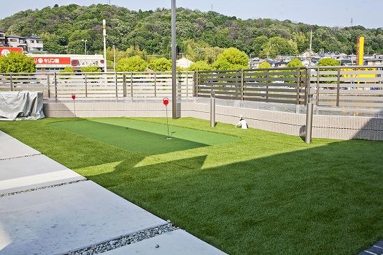 人工芝ゴルフ練習用グリーン
