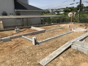 庭工事前の写真