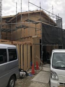 八坂にあるホテルの造園工事