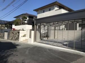 生駒市真弓にて外構工事