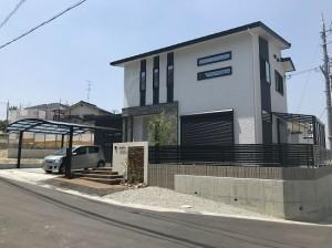 奈良市菅原町にて新築外構工事です。